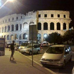 Pula - Arena at night