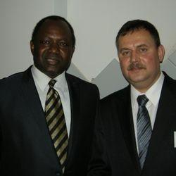 "MR. ALIU TUNKARA, STOHINC™ VIP & PRESIDENT OF ""OAU"" ST.PETERSBURG, RUSSIA"