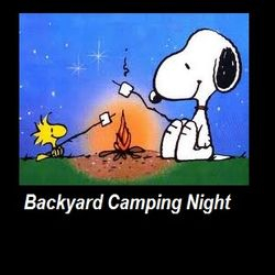 Once a week we do an overnight backyard camp night with bonfire etc
