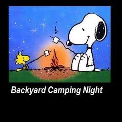 Once a week we do an overnight backyard camp night with bonfire etc