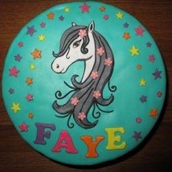 Meisjestaart met paard - juli 2015