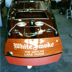 White Smoke after restoration