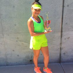 Sylvano Tennis Academy: 4th of July 2014 Girls U16s Winner