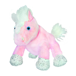 Glitter the pink horse