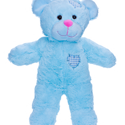 Baby Blue Patch Bear