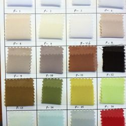 Pebble Georgette Color Chart