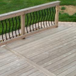 Deck Restoration & Refinishing – BEFORE