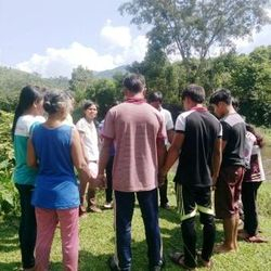 2016-06-12: Bro. Phan Tro baptized 30 more new believers in the Name of The Lord Jesus Christ.
