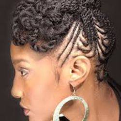 Natural Hair at its Best for that Sassy Natural Diva who wants a Little More Funk.