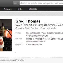 Authors Professional LinkedIn Profile.
