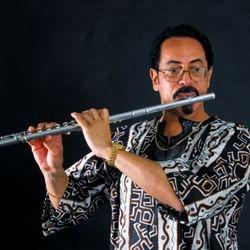 Tee Mac Iseli, Flautist, philharmonic composer and philanthropist.