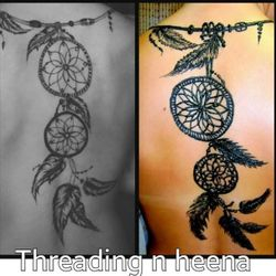 dream catcher henna