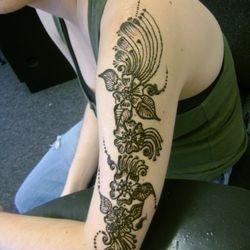floral henna sleeve #raynham