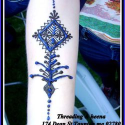 Moroccan henna at Wheaton college