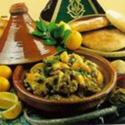Moroccan Tradetional Food Fair Marrakesh