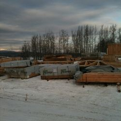 Starting a show home in Watson's Landing, Smithers.