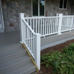 Composite decking & railing [AFTER]