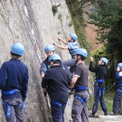 Rock Climbing Windermere Camp