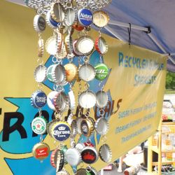 Bottle Cap Windchime- customs orders available