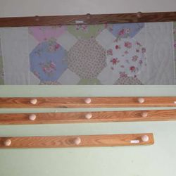 Quilt Racks for wall hanging $25
