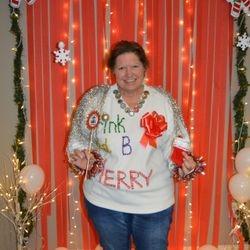Becky C. Winner of the Ugliest Sweater December 2016