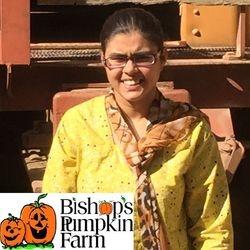 Saira at Bishop's Pumpkin Farm 2015