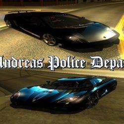 SAPD Highway Patrolling Unit Vehicles (Euros : Gallardo LP570-4 & Banshee : K-Agera)