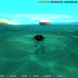 SAPD Effects Mod(Transparent Water)