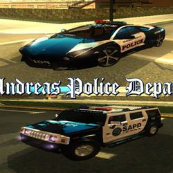 SAPD Traffic Police Units (LVPD Cruiser : Reventon & FBI Rancher :Hummer H2)
