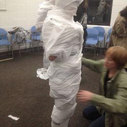 Mummy Race from the Harvest Fest.