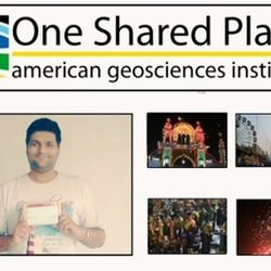 Finalist in One Shared Place Contest at American Geoscience Institute