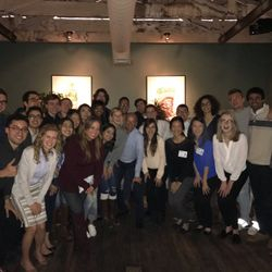 SVBTrek 2017- dinner with Silicon Valley Bank's CEO! A conference to learn about entrepreneurship and network with VCs, founders, and students from 15 universities around the world.