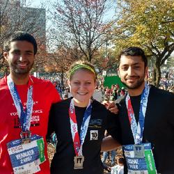 Completed my first half marathon in Nov, 2016!