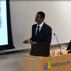 Got to present at Microsoft Research Redmond HQ after receiving a MSFT PhD Fellowship.