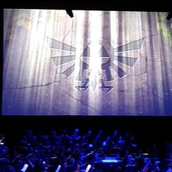 Live Zelda Orchestra concert! It was amazing.