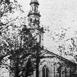 "The original ""White Church""dedicated in 1849.  Congregation voted to become Presbyterian in 1863."