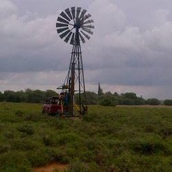 Fixing of windmill