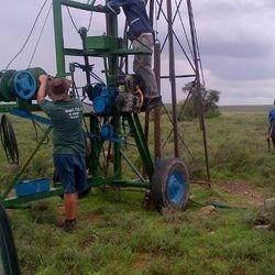 Testing of existing borehole