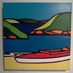 'Kayak 1973' by Matthew Muir
