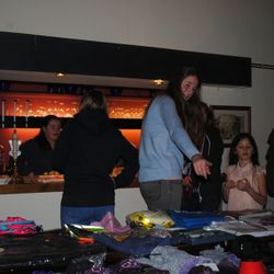 Raffle prizes and organisation of food