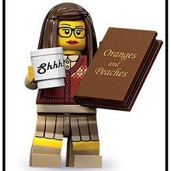 Series 10 Lego Minifigure-The Librarian