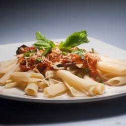 Spicy Tuna Penne in Marinara Sause