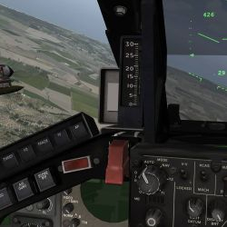 HUD (Heads Up Display) in Tornado Panavia