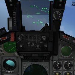 ESRRD (E-Scope Radar Repeater Display) in Tornado Panavia