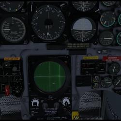 NASARR G2 Radar in F104