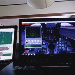 TV-TAB (TV-Tab Head-Down Display) in Tornado Panavia (remote access through Tablet)