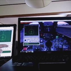 TV-TAB (TV-Tab Head-Down Display) in Tornado Panavia (remote access through Tablet)