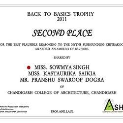 Second Place Winner