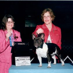 One of P!nk's wins with handler Jane Flowers!   Jane and P!nk earned 8 points together.  Thanks Jane!