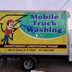 They also keep our truck sparkly clean with biweekly washes!